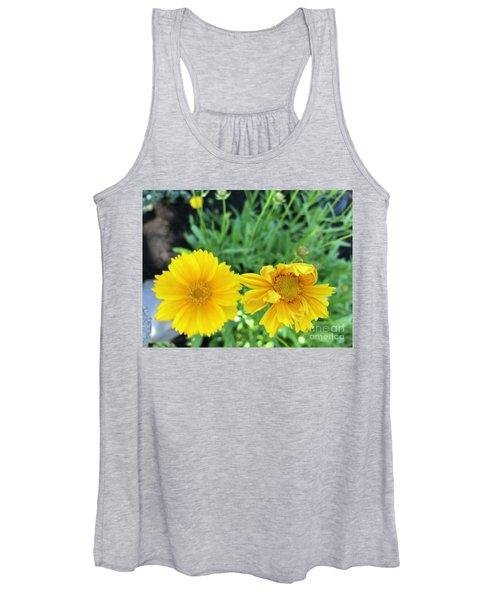 Yellow Coreopis Women's Tank Top