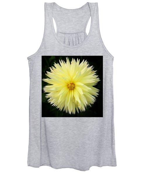 Yellow Dahlia Women's Tank Top