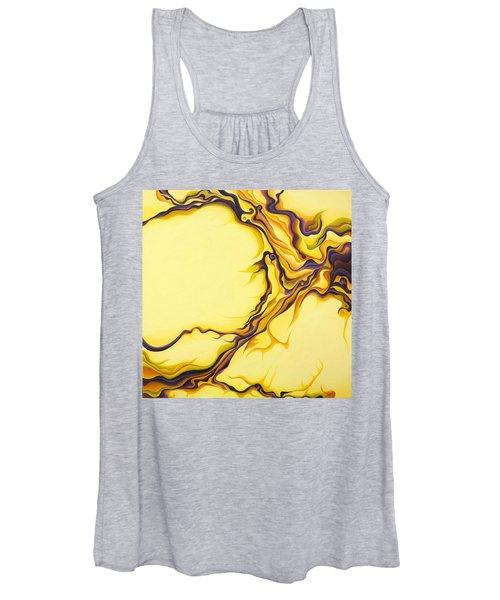 Yellow Flow Women's Tank Top
