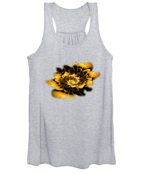 Yellow Flower Women's Tank Top