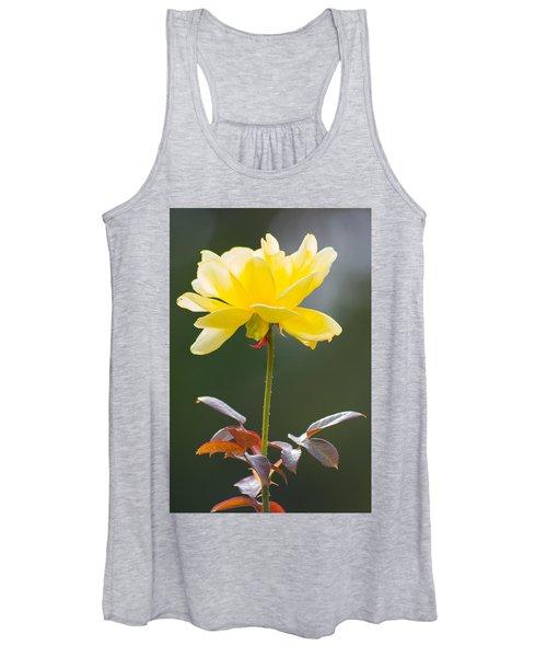 Yellow Rose Women's Tank Top