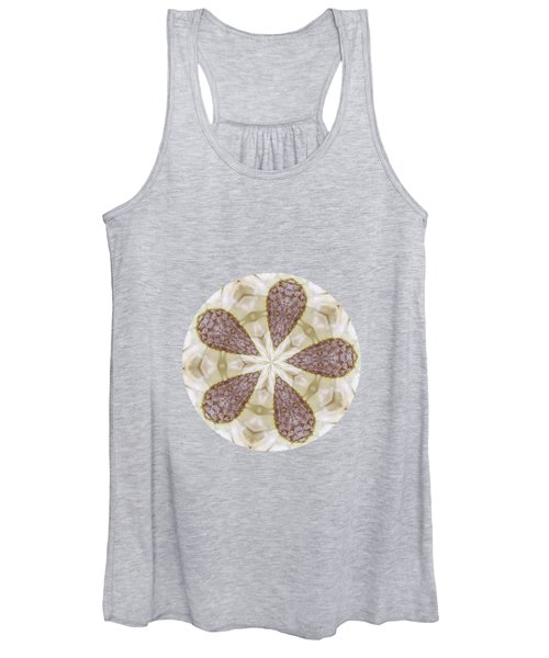 Yellow Star Thistle Women's Tank Top