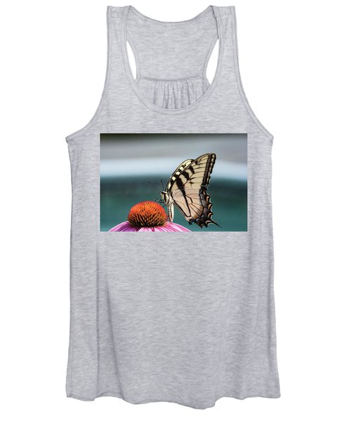 Women's Tank Top featuring the photograph Yellow Swallowtail II by Pete Federico