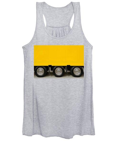 Yellow Truck Women's Tank Top