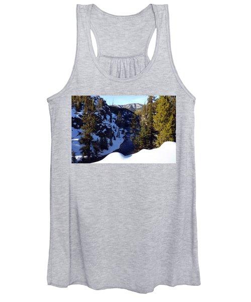 Yellowstone In Winter Women's Tank Top