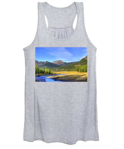 Yellowstone National Park Landscape Women's Tank Top