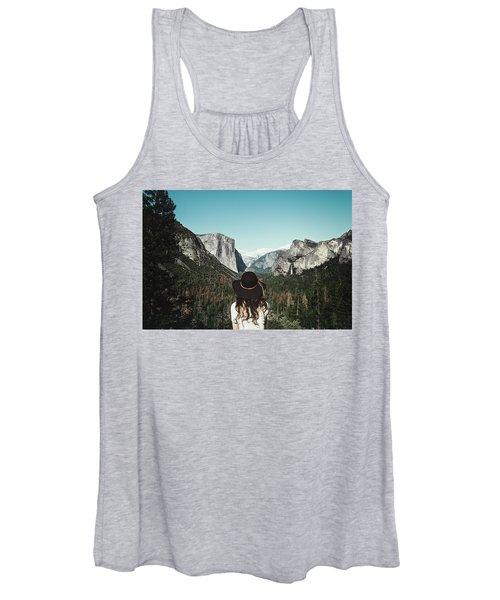 Yosemite Awe Women's Tank Top
