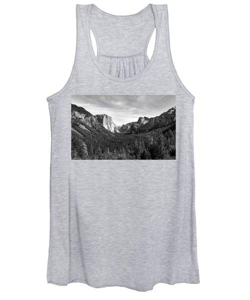 Yosemite B/w Women's Tank Top