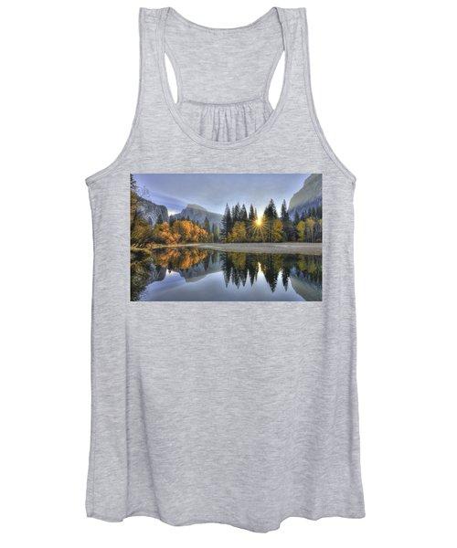 Yosemite Reflections Women's Tank Top