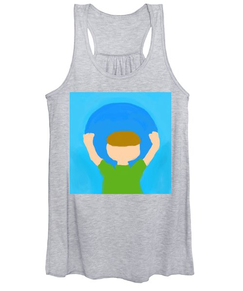 You Can Carry The Moon 101 Women's Tank Top