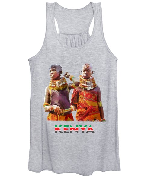 Young Turkana Girls Women's Tank Top