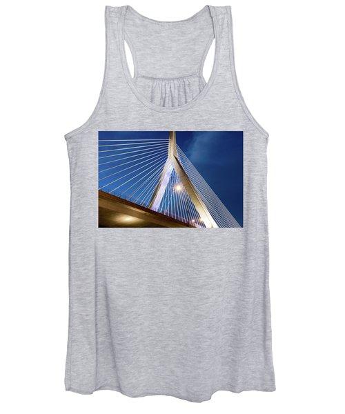 Zakim Bridge Upclose Women's Tank Top