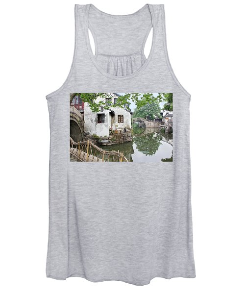 Zhouzhuang - A Watertown Women's Tank Top
