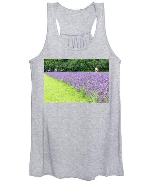 Blue Lavender Women's Tank Top