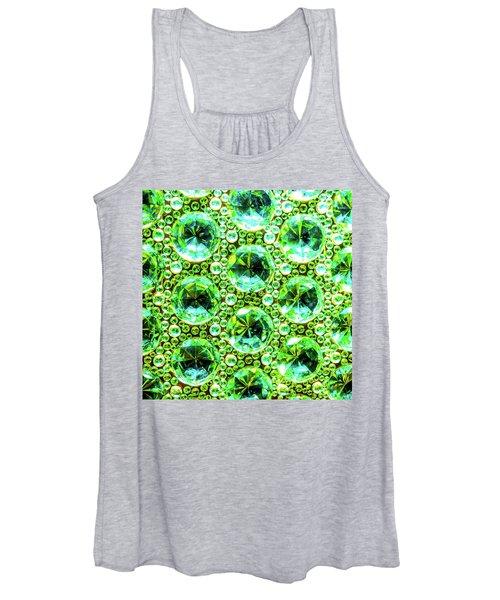 Cut Glass Beads 2 Women's Tank Top