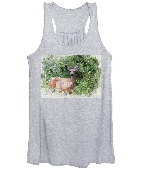 Deer Women's Tank Top