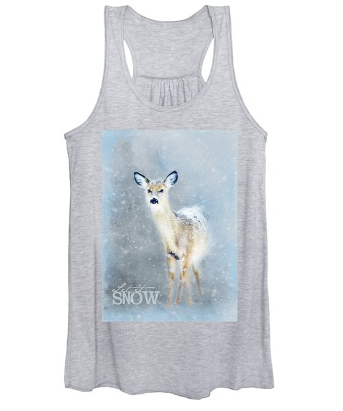 Doe In The Snow Women's Tank Top