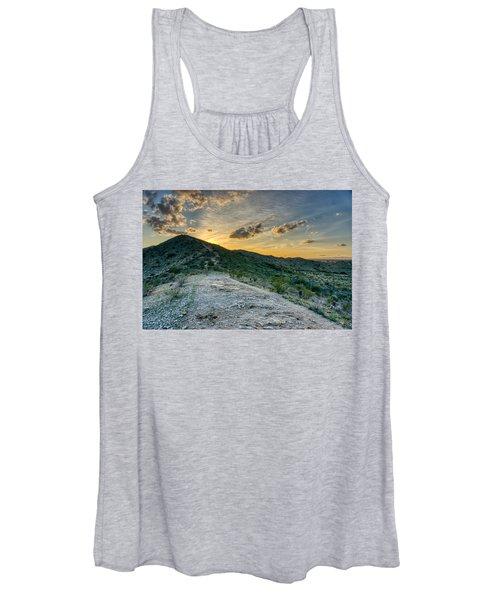 Dramatic Mountain Sunset  Women's Tank Top