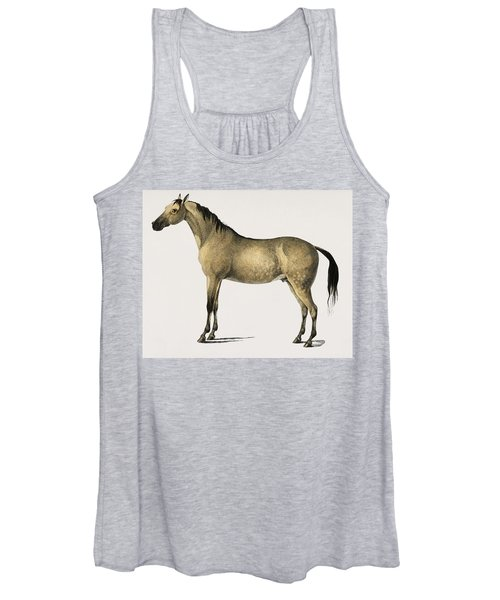 Horse  Equus Ferus Caballus Illustrated By Charles Dessalines D  Orbigny  1806 1876  2 Women's Tank Top