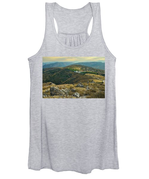 Monastery Agion Anargiron Above Argos Women's Tank Top