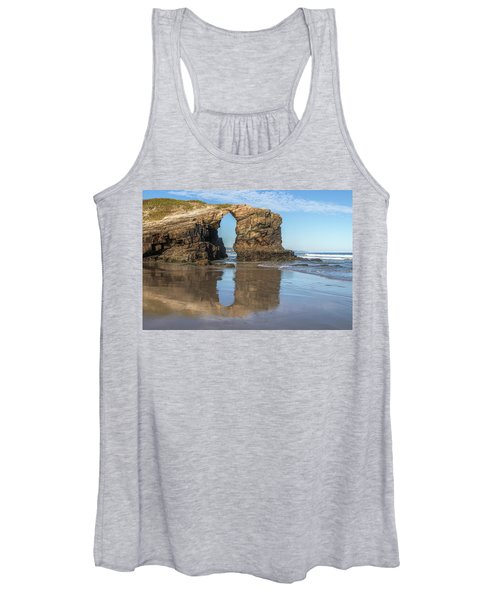 Playa De Las Catedrales - Spain Women's Tank Top