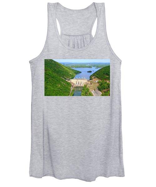 Smith Mountain Lake Dam Women's Tank Top