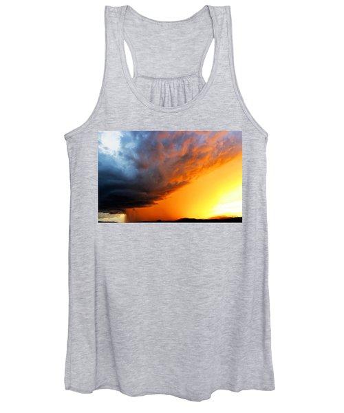 Sunset Storm Women's Tank Top