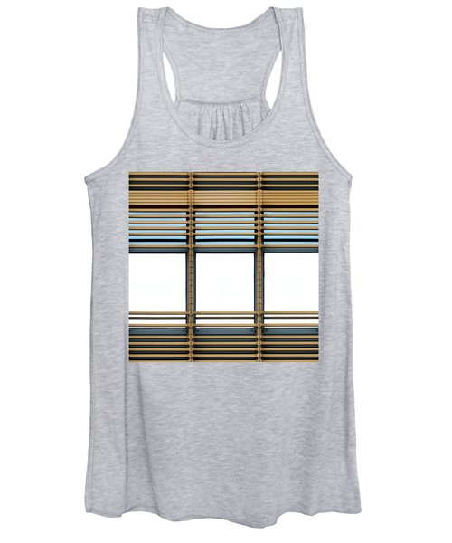 White Windows Women's Tank Top