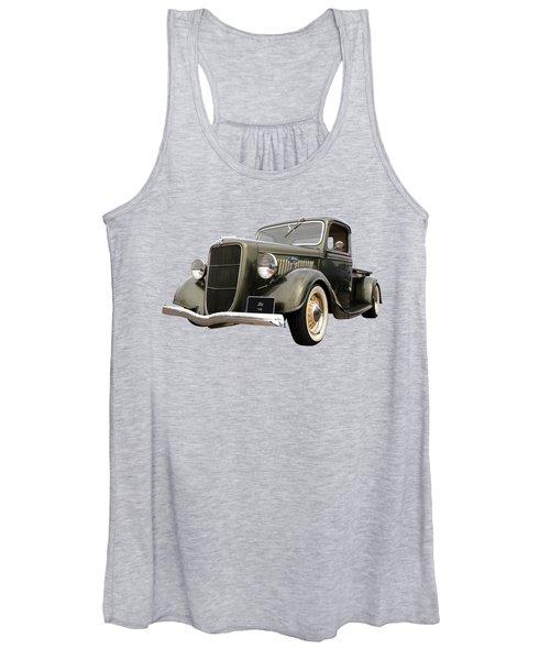 1936 Ford V8 Women's Tank Top