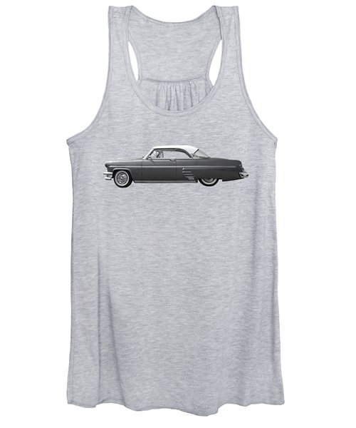 1954 Ford Mercury Monterey Black And White Women's Tank Top