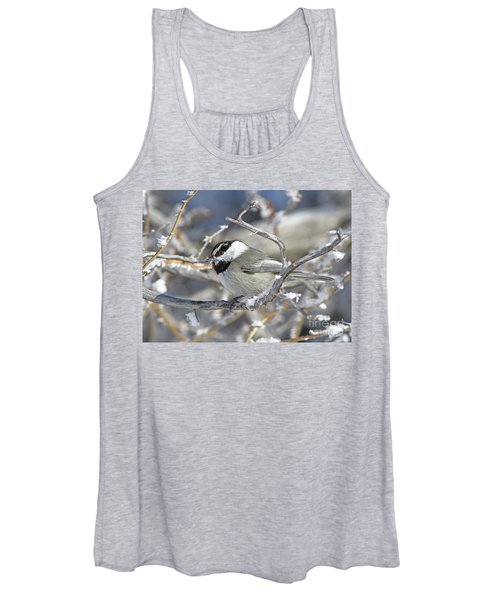 Mountain Chickadee Women's Tank Top