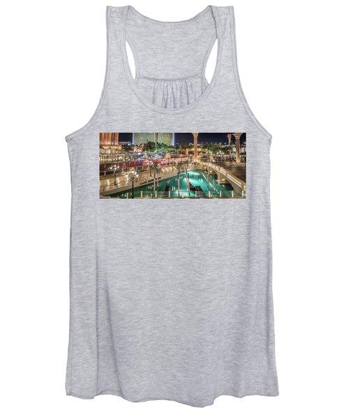 View Of The Venetian Hotel Resort And Casino Women's Tank Top