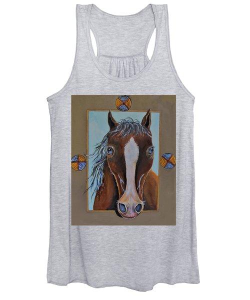 A Blue Eyed Horse Women's Tank Top