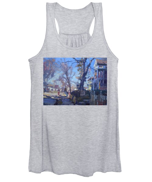 A Cold Sunny Afternoon Women's Tank Top
