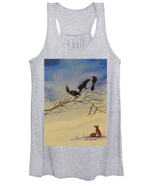 A Fox And His Cronies Women's Tank Top