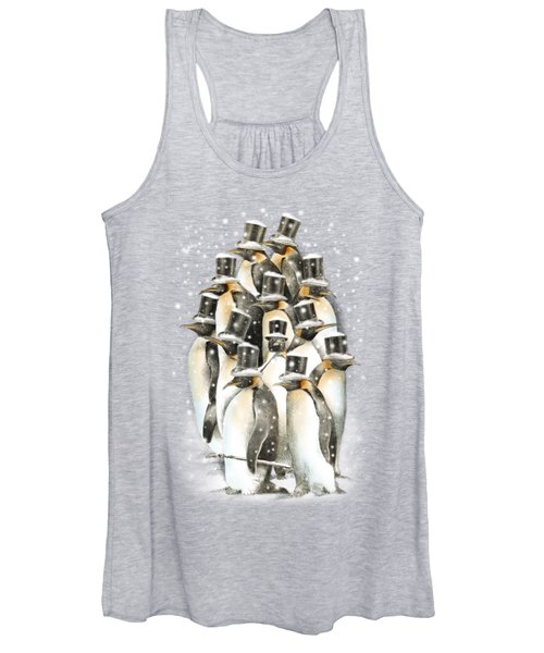 A Gathering In The Snow Women's Tank Top