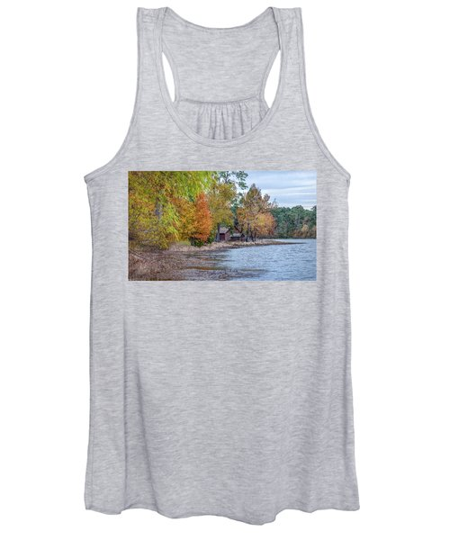 A Peaceful Place On An Autumn Day Women's Tank Top