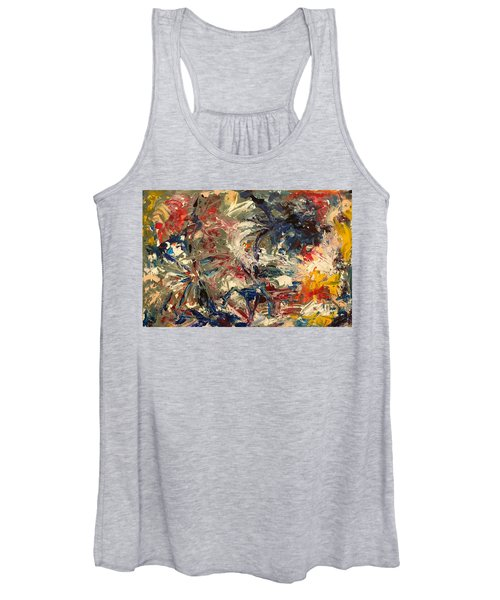 Abstract Puzzle Women's Tank Top