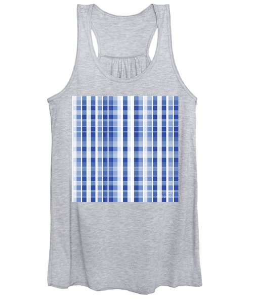 Abstract Squares And Lines Background - Dde609 Women's Tank Top