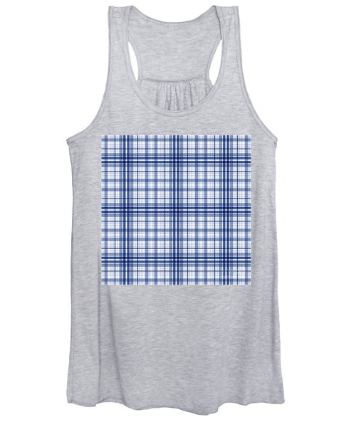 Abstract Squares And Lines Background - Dde613 Women's Tank Top