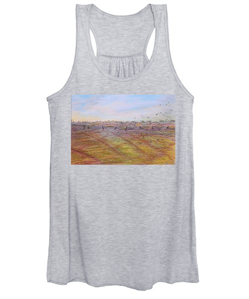 After The Harvest Women's Tank Top