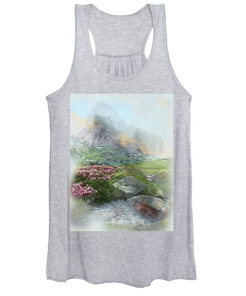Afternoon Light In The Alps II Women's Tank Top