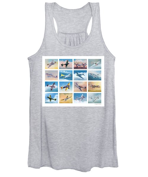Airplane Poster Women's Tank Top