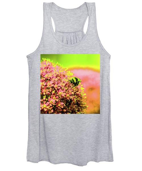 Allium With Bee 1 Women's Tank Top