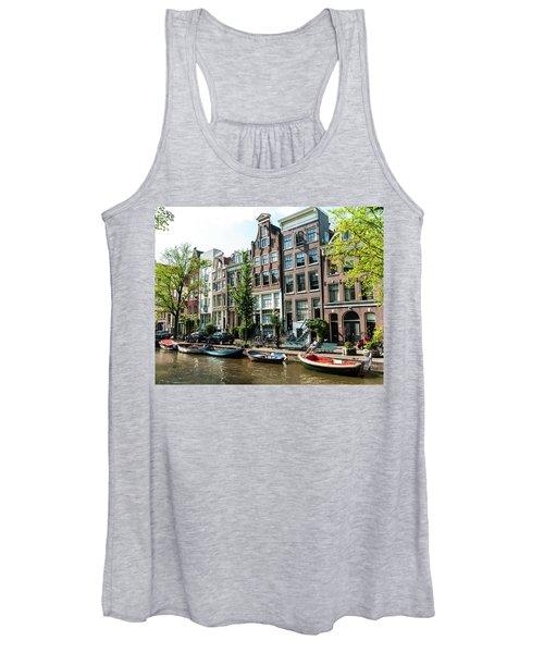 Along An Amsterdam Canal Women's Tank Top
