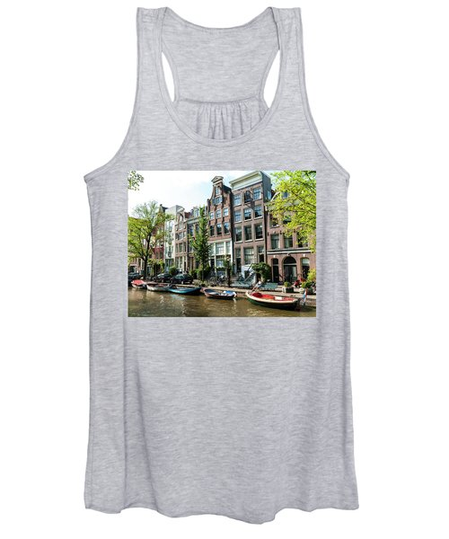 Along An Amsterdam Canal Women's Tank Top