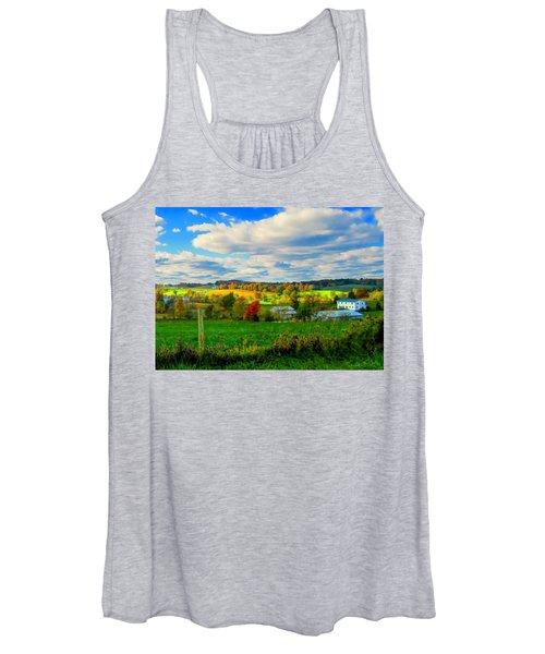 Amish Farm Beauty Women's Tank Top