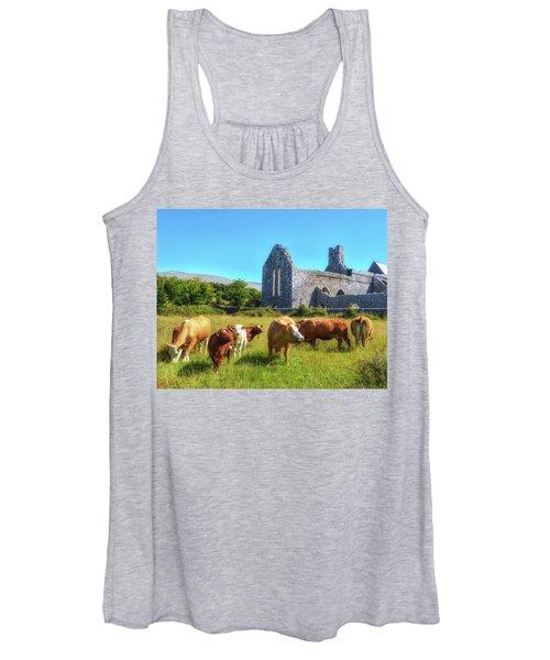 Ancient Cows Women's Tank Top