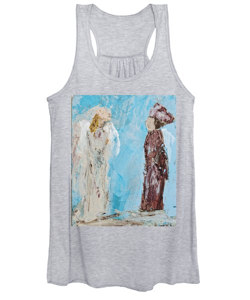 Angel Of Wisdom Women's Tank Top