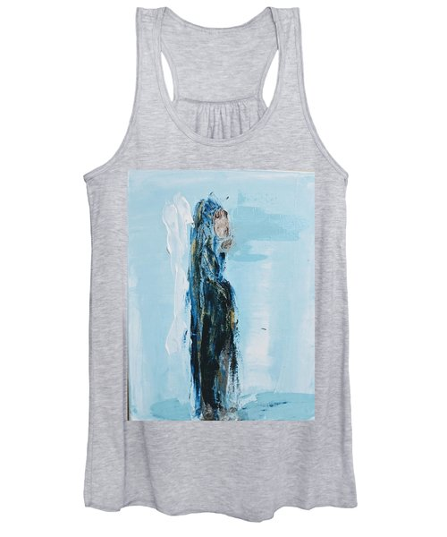 Angel With Child Women's Tank Top